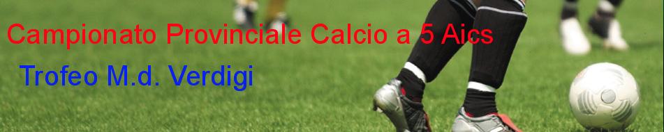 Calcettoverdigi Calcio a 5 Aics